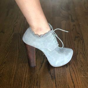 Betsey Johnson Serenn Platform Boot Heels